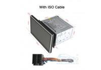 II DIN универсальной установки (кабель Nissan в комплекте) CARMEDIA OL-1006-8 (C500+) Штатное головное мультимедийное устройство
