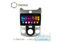 Kia Cerato II 2008-2013 (TD) с кондиционером  CARMEDIA OL-9736-M-MTK (Ownice C500+) Штатное головное мультимедийное устройство на OS Android