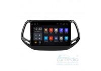 Jeep Compass 2016+ CARMEDIA NM-108-MTK Штатное головное мультимедийное устройство на Android 6.0/8.1