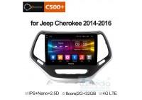 Jeep Cherokee 2014+ CARMEDIA OL-1253-8 (C500+) Штатное головное мультимедийное устройство