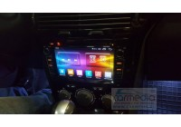 Opel Astra H, Vectra С, Corsa D, Antara, Vivaro, Meriva, Zafira (черный лак) CARMEDIA OL-7936-b-8 (C500+) Штатное головное мультимедийное устройство