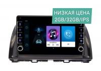 Штатная магнитола Mazda CX-5 2011 - 2017 Wide Media LC1192ON-2/32 с поддержкой джойстика