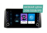 Штатная магнитола УАЗ Патриот, Профи 2017+ Wide Media LC9492ON-2/32 без рулевого управления