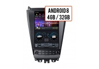Штатная магнитола Honda Accord 2002 - 2008 Wide Media WM-CF3258OL-4/32