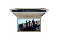 Потолочный монитор LeTrun 2646 17.3 дюйма бежевый SD USB HDMI FM