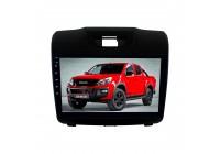 Штатная магнитола для Chevrolet TrailBlazer, S-10 2012-2016 Isuzu D-Max 2012+ LeTrun 2785-4212 9 дюймов VT с 1DIN корпусом Android 8.x MTK-L 2+16 Gb ASP