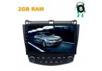 Штатная магнитола Honda Accord CL7, CL9 LeTrun 2811 ZH Android 8.x 10 дюймов 2.5D Alwinner