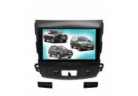 Штатная магнитола для MMC Outlander,Peugeot 4007 LeTrun 3790-4544 9 дюймов IN Android 10 2+32 Gb 8 ядер Unisoc 9863 DSP++
