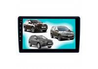 Штатная магнитола для MMC Outlander, Peugeot 4007 LeTrun 3796-4544 9 дюймов IN Android 10 2+32 Gb 8 ядер Unisoc 9863 DSP++