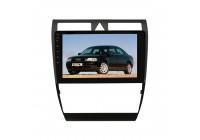 Штатная магнитола для Audi A6 (4B) 1997-2005 гг, Allroad 2000-2006 гг. LeTrun 4131-4257 9 дюймов IN Android 10.x 3+32 Gb 8 ядер DSP ++