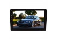 Штатная магнитола для Audi A4 (B6) 2002-2006 гг, A4 (B7) 2004-2009 гг. LeTrun 4132-4257 9 дюймов IN Android 10.x 3+32 Gb 8 ядер DSP ++