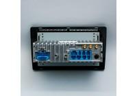 Штатная магнитола для JAC T6 LeTrun 4282-4257 9 дюймов IN с 1DIN корпусом Android 10.x 3+32 Gb 8 ядер DSP ++