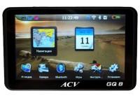 ACV GQ8 видеорегистратор + GPS-навигатор
