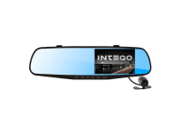 Видеорегистратор INTEGO VX-410MR (зеркало)+камера заднего вида