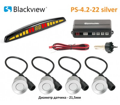 Blackview PS-4.2-22 silver парктроник