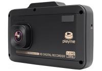 Playme P500 Tetra видеорегистратор + радар детектор (комбо)